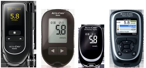 Accu-Chek bloog glucose meters