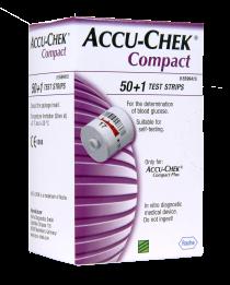 accu-chek compact plus test strip drum