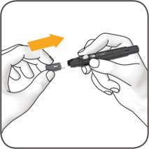 accu-chek fastclix step 4
