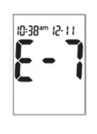 Accu-Chek Aviva  - Error Code (E7)