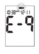 Accu-Chek Aviva  - Error Code (E9)