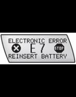 Accu-Chek Combo Error Code E-7