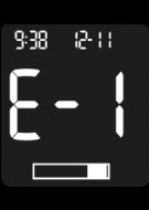 Accu-Chek Instant Error Code - E-1