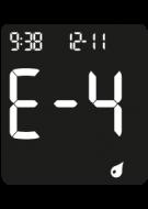 Accu-Chek Instant Error Code - E-4