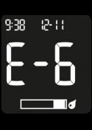 Accu-Chek Instant Error Code - E-6
