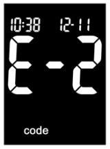 Accu-Chek Performa Nano Error Code E-2