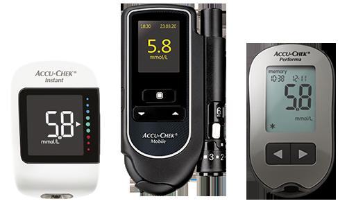 Accu-Chek Instant, Accu-Chek Mobile, Accu-Chek Performa