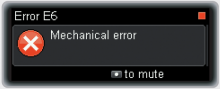 accu-chek insight error e6