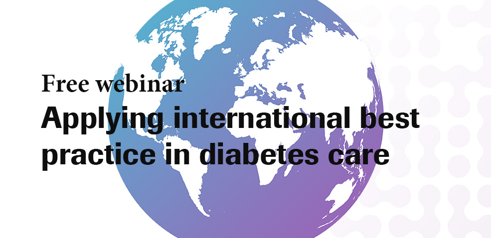 Roche Diabetes Care to host webinar on best practice in diabetes management